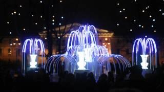 Лазерное шоу на Дворцовой площади 2016 года 31 декабря   7