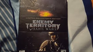 Enemy Territory: Quake Wars Limited Collector's Edition Unboxing