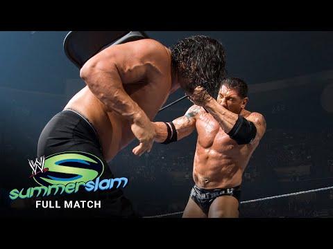 FULL MATCH - The Great Khali vs. Batista - World Heavyweight Title Match: SummerSlam 2007