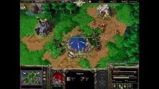 Warcraft 3 The Fastest Destroying Computer Insane,und Vs Orc-3:48