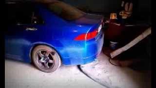 Honda accord cl7 euro-r exhaust J's Racing FX PRO 60 RS