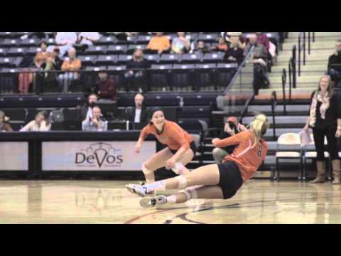 2015 Hope College Volleyball Highlight Video