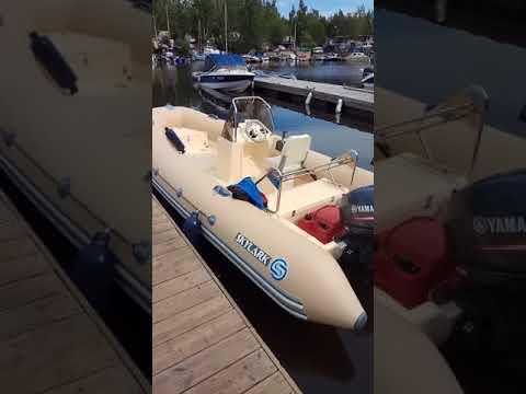 Лодка риб от ТехСудПром rib Skylark f480 мотор yamaha 40 отзыв