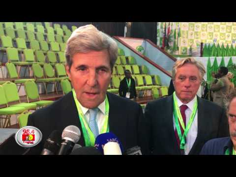 Kerry says Kenya elections stable, calls for patience