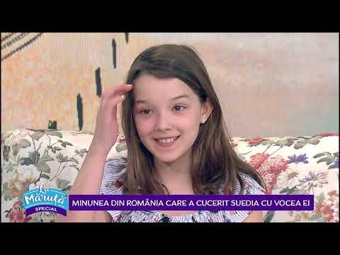 Minunea din Romania care a cucerit Suedia cu vocea ei