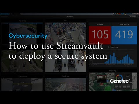 Cybersecurity - Genetec Streamvault infrastructure hardening demo