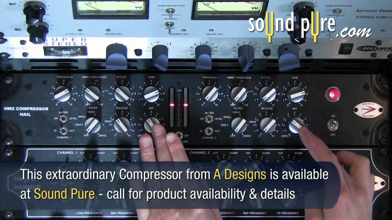 Nail Stereo Compressor Hm2 A Designs Parallel Compression Demo