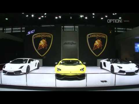 Lamborghini Aventador LP 720-4 at the 2013 Shanghai Motor Show