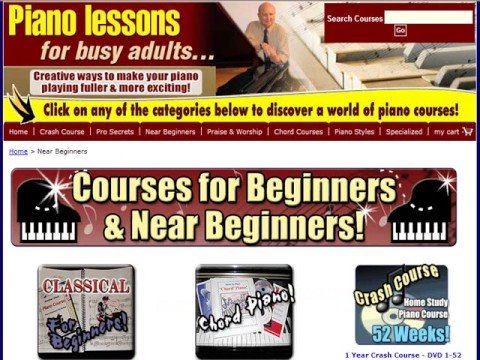 Piano Lessons For Busy Adults - Tons of Them!