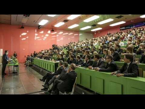 Petro Poroshenko's talk at University of Zurich