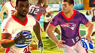 super bowl 51 predictions nfl tour gameplay   patriots vs falcons