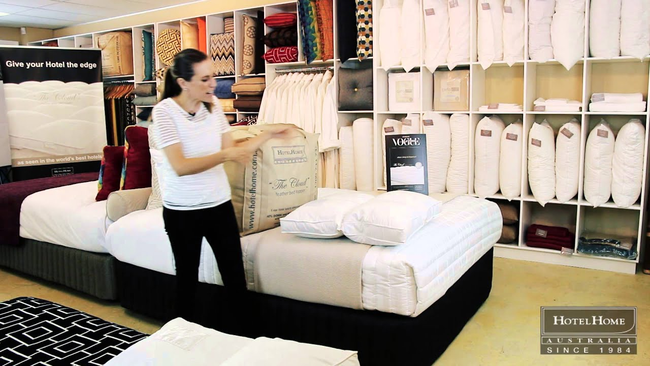 Best Mattress Toppers Australia Introducing The Cloud Feather And Down Mattress Topper By Hotelhome