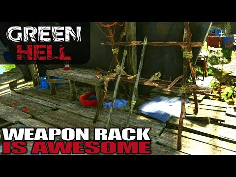 WEAPON RACK IS AWESOME | Green Hell | Let's Play Gameplay | S01E13