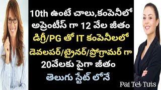 Local Jobs - Best Private Jobs for Freshers & 10th/ITI/INTER | రాష్ట్రంలో ప్రైవేట్ ఉద్యోగాలు