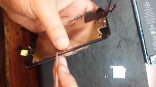 видео замена экрана iphone 5c