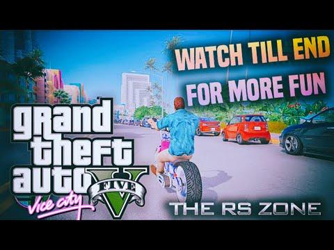 GTA V Vice City Remastered Mod (Walkthrough and more)