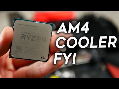 AMD Ryzen AM4 Vs. AM3 - FYI - Avoid Any Day 1 Cooler Problems!