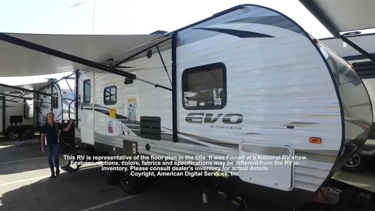 New 2020 Forest River Rv Evo T2160 Travel Trailer At Rv Travel World Rancho Cordova Ca 17349