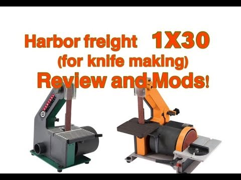 Harbor Freight 4×36 Belt Sander For Knife Making