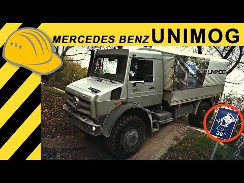Mercedes-Benz Unimog U 4023 & U 5023 Offroad Fahrbericht - Full HD - Bauforum24