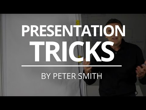 How To Add Some Flip Chart Magic To Your Presentation | Peter Smith