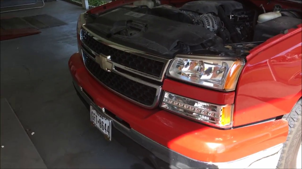 chevy silverado lighting upgrade part  led headlight