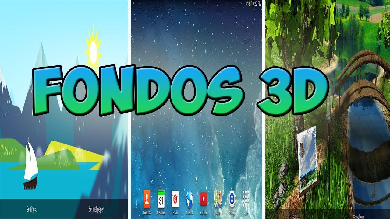mejores fondos de pantalla para android en 3d fondos 3d