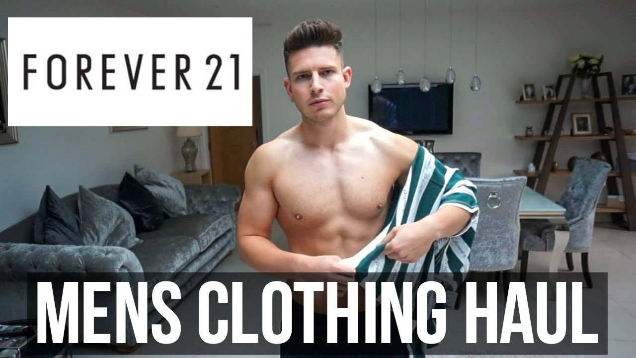 f46caf2e57cc HUGE FOREVER 21 MEN'S CLOTHING HAUL   SUMMER 2018 - YouTube
