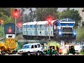 Train made to wait for Vehicles to Clear path | Painful Single Line crossing