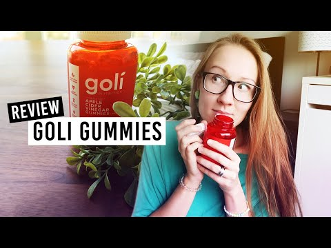 Goli Nutrition // Apple Cider Vinegar Gummy Review