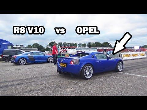 Opel Speedster Turbo  -vs-  Audi R8 V10