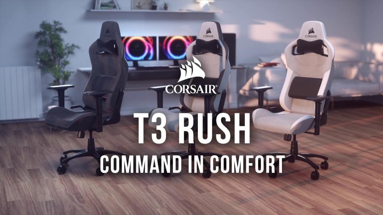 Best pris på Corsair T3 Rush Se priser før kjøp i Prisguiden