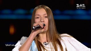 "Anhelina Terennikova - ""Tam, de my ye"" - Blind Audition - Voice.Kids - season 5"