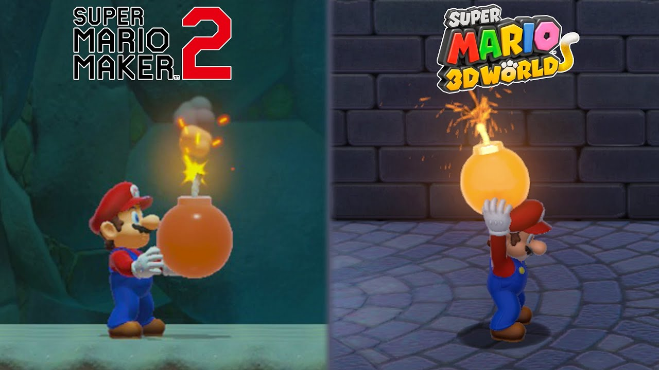 Download 100 Differences Between Super Mario 3D World and Super Mario Maker 2