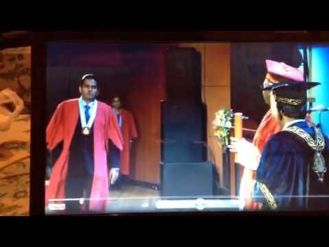 Post Graduate Convocation - University of Colombo