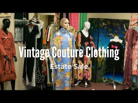 Estate Sale - Vintage Couture Clothing