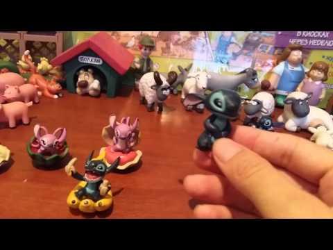 Серия игрушек дисней лило и стич.Стич