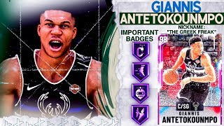 I used the *NEW* PINK DIAMOND GIANNIS at SG and this happened... NBA 2k20 MyTEAM