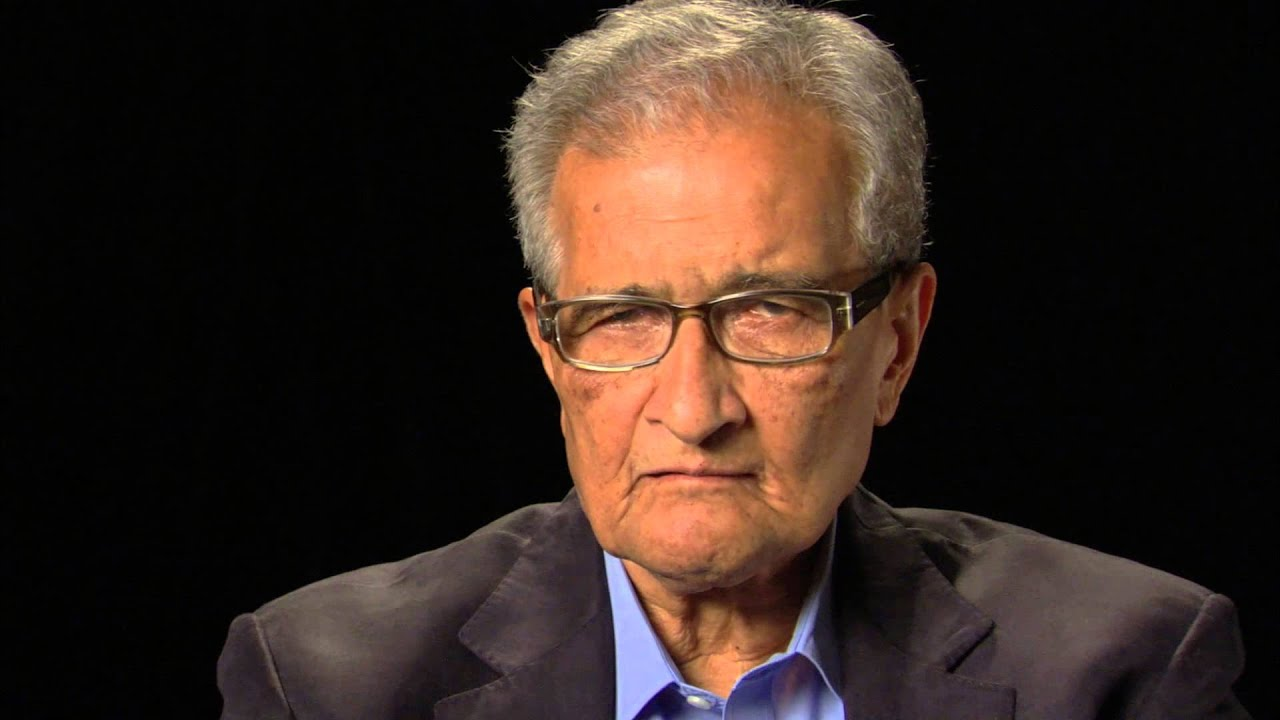 amartya sens what is equality essay This is amartya sen's famous tanner lecture in which he articulated his notion of basic capability equality he examines three central notions of equality, that of.