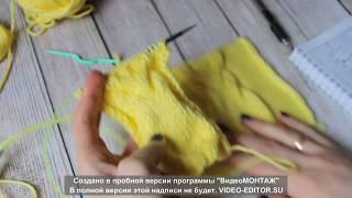 Подробный урок узора Сова спицами
