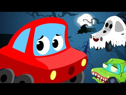 Little Red Car | It's Halloween Night | Scary Song