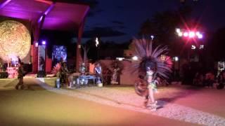 Aztec Dancers & Totonac Pole Flyers @ New Mexico State Fair Indian Village Clip 3