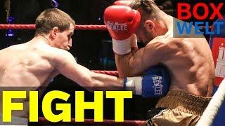 Alexander Pavlov vs Martin Kabrhel - 4 rounds middleweight - 03.12.2017 - Hamburg