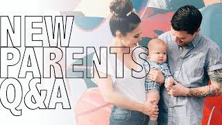 Q+A | Life as New Parents