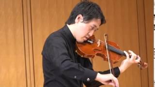 ヴァイオリンソナタ(フランク)山口豊2014.9.14ヴァイオリンリサイタル