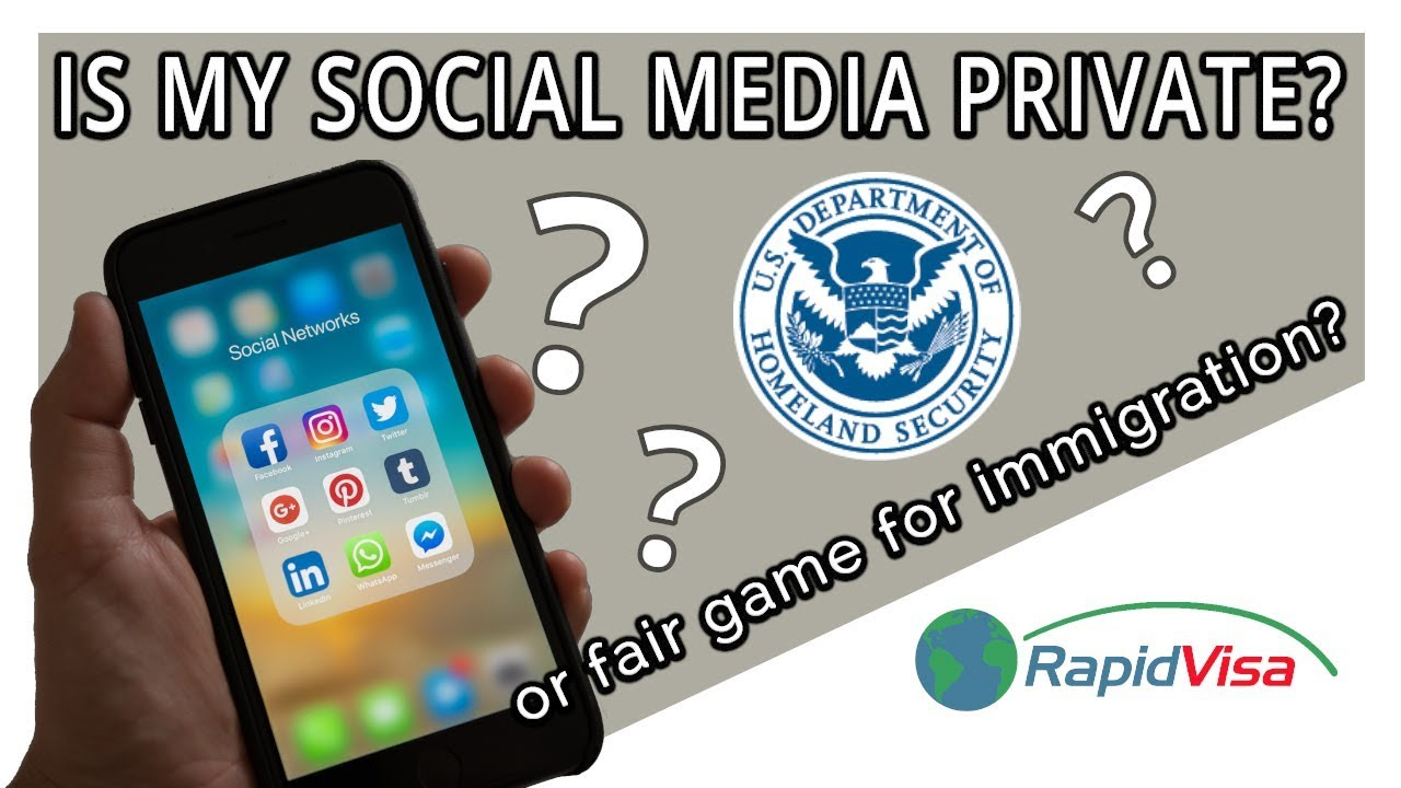 Will USCIS or a U S  Embassy Look at My Social Media?