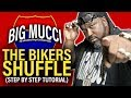 Bikers Shuffle Line Dance [ Step By Step ]  Instructional video