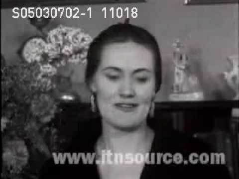 Joan Sutherland interview Clip 1959