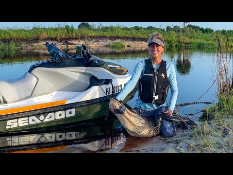 Sea-Doo GATOR Fishing | Did Not Go As Planned... | Catch, Clean, Cook | GIVEAWAY Announcement
