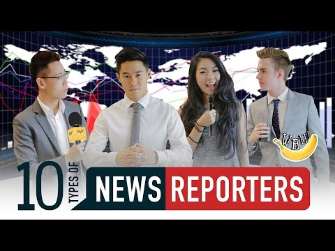 10 Types Of News Reporters